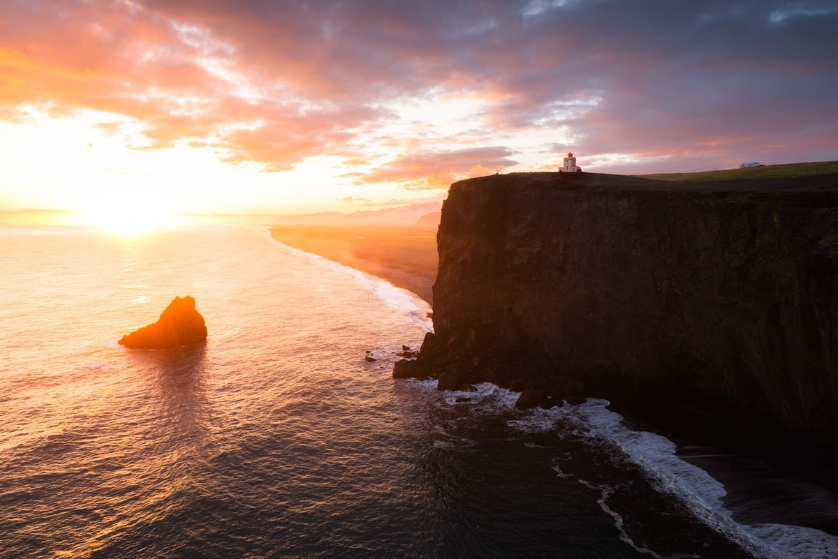 Incredible Iceland Road Trip Itinerary and Planning Guide - Dyrholaey Lighthouse