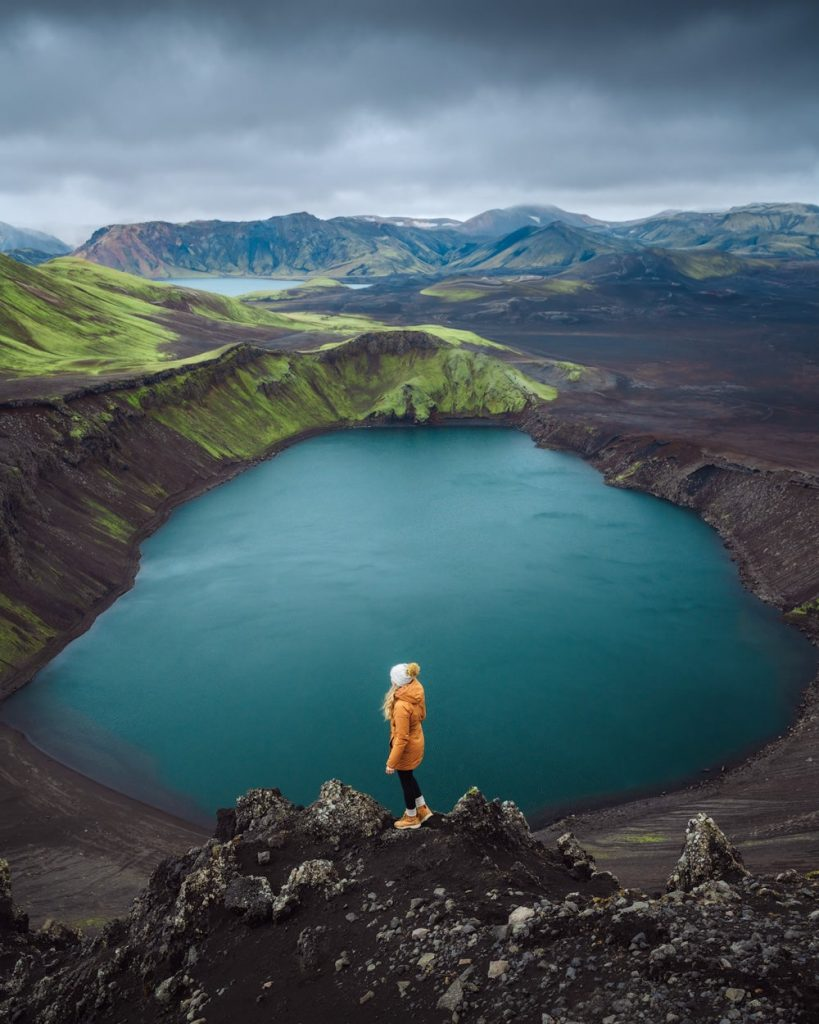Incredible Iceland Road Trip Itinerary and Planning Guide - Highlands Crater