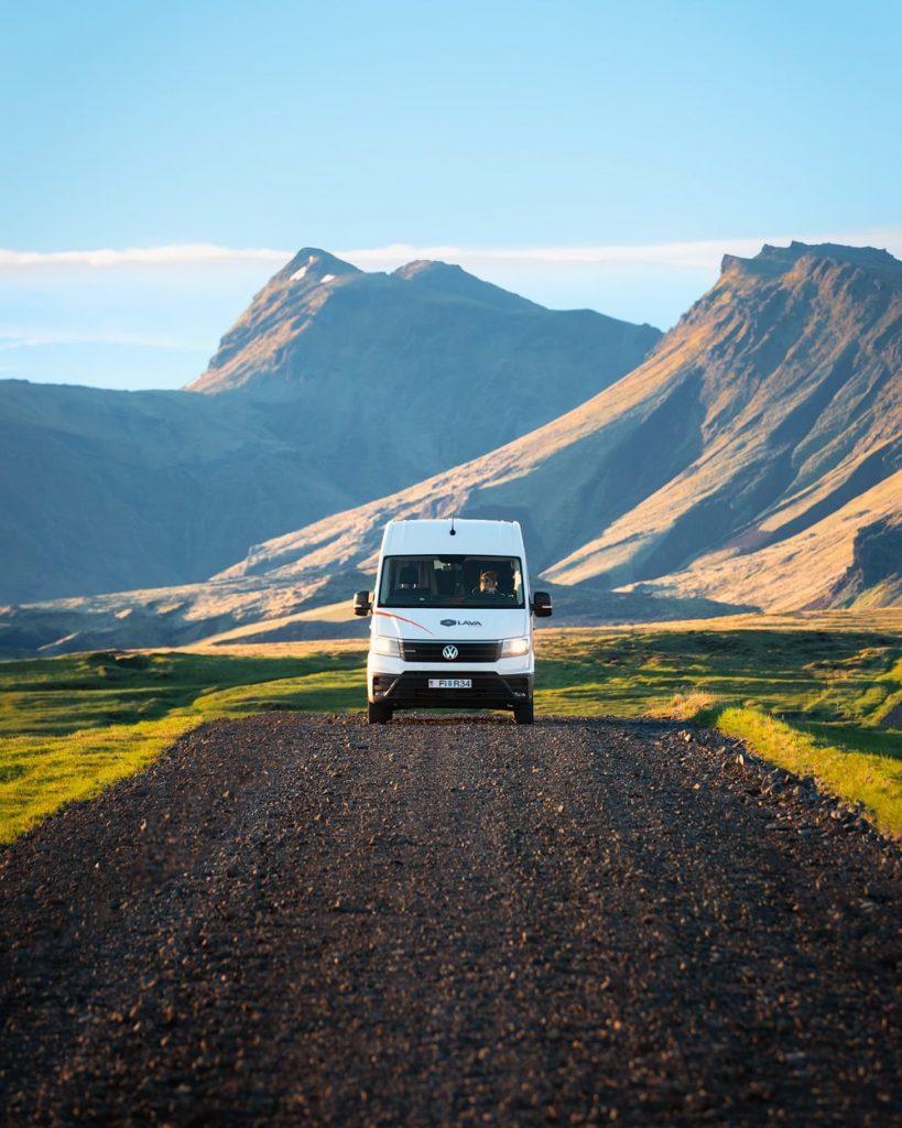 Iceland 4x4 Camper Rental