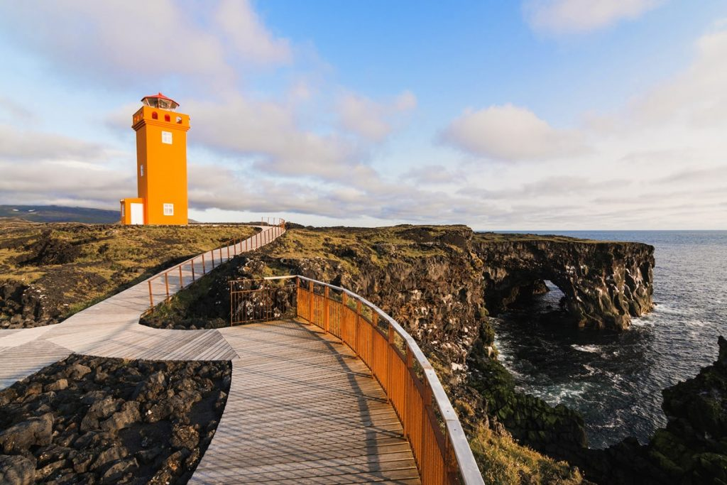 Incredible Iceland Road Trip Itinerary and Planning Guide - Svortuloft Lighthouse