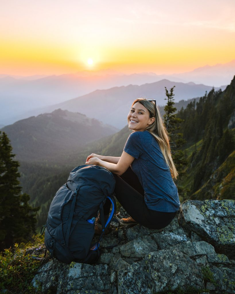 Backpacking with your period