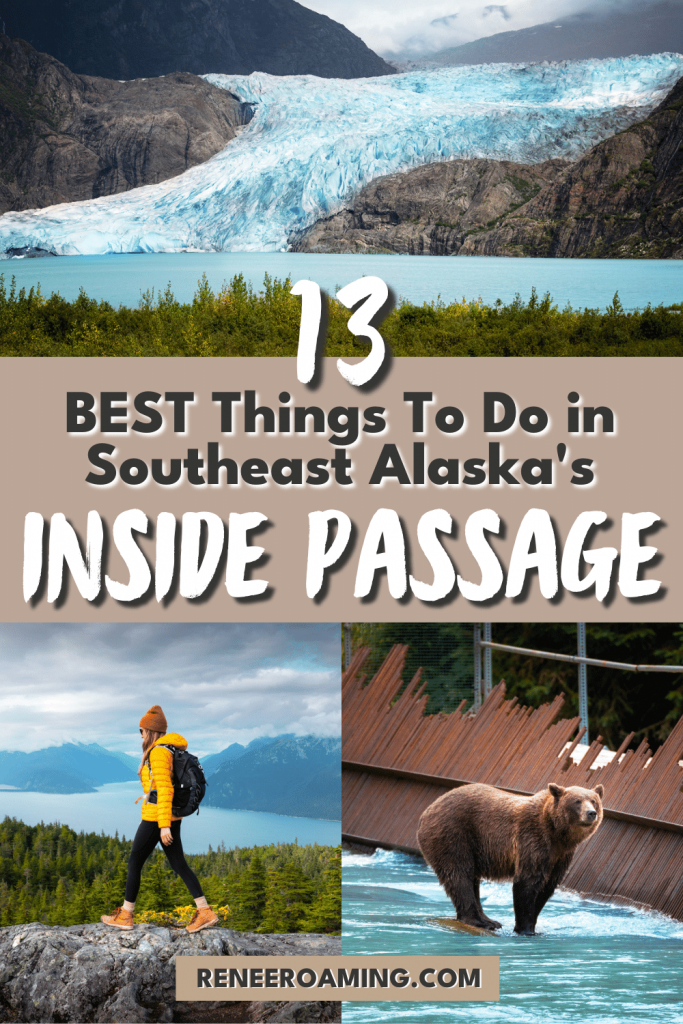 Southeast Alaska's Inside Passage is one of the most breathtaking places I've ever been! The whole region is bursting with natural beauty, rich Tlingit culture, delicious food, and ample opportunities for adventure. In this guide, I am sharing 13 of the best things to do in the Inside Passage!
