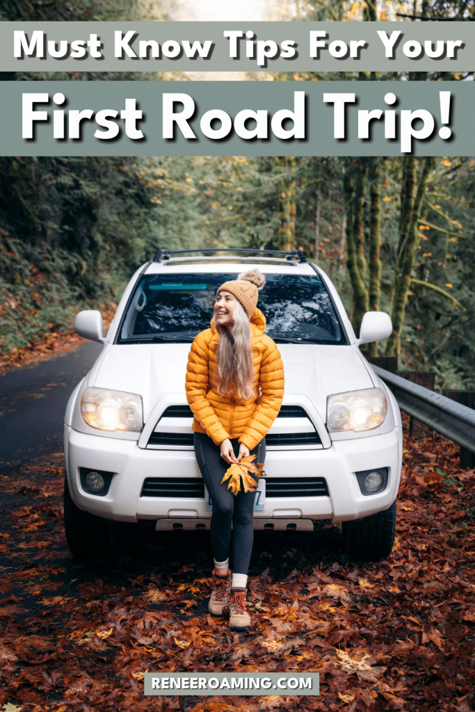 There's always a first time for everything. If you haven't been on a road trip before, it's time to plan one! But maybe you're on the verge of going on your first long road trip and feeling a little nervous about it? That's 100% normal. There are some things you can do beforehand in order to have the best road trip experience possible. In this post, I'm sharing my favorite first-time road trip tips! Use these tips and you'll be off to a great start on your first road trip journey!
