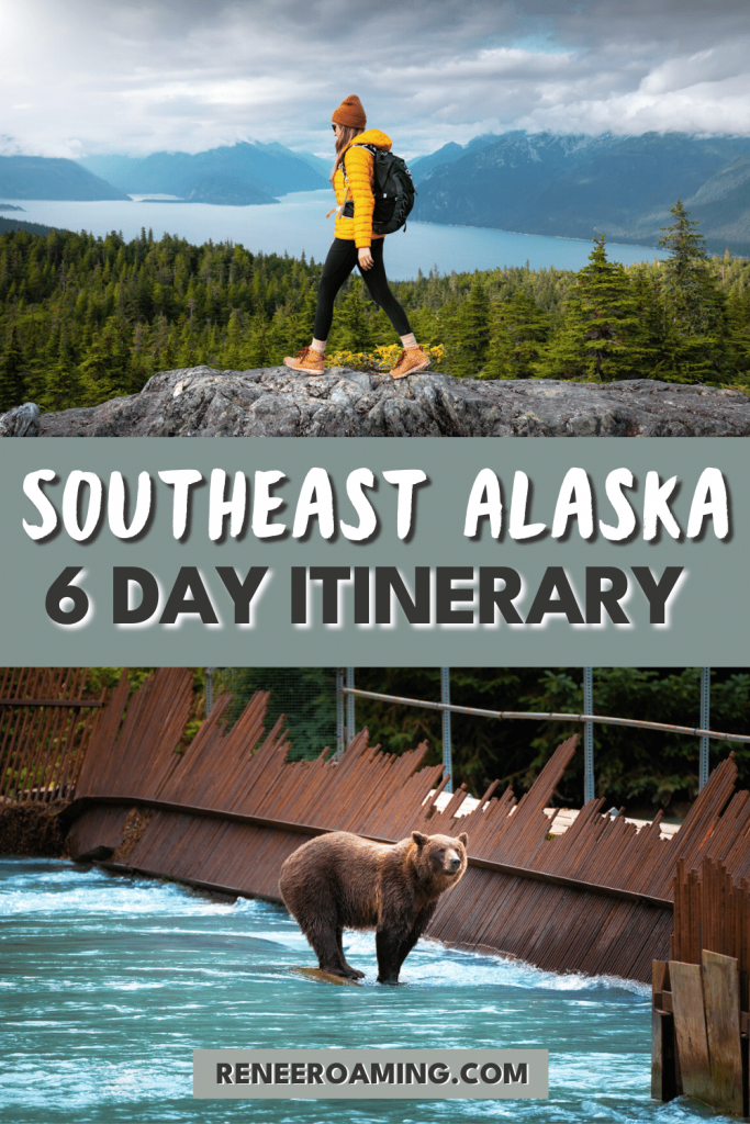 Southeast Alaska should be on everyone's bucket list! I have traveled to this beautiful region three times now, and each visit has blown me away. Whether you're into hiking, cultural sights, national parks, food, or wildlife, there really is something for any type of visitor to enjoy. Ready to start planning your trip? I've got you covered! In this article, I am sharing an EPIC 6 day Southeast Alaska Itinerary, plus planning tips and more!