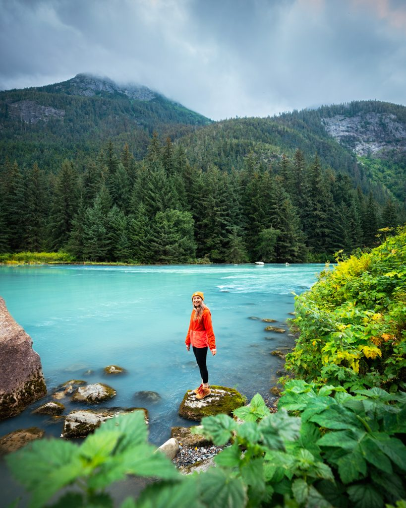 Epic 6 Day Southeast Alaska Itinerary - Chilkoot Lake and Chilkoot River in Haines