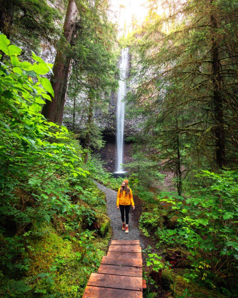 Epic 6 Day Southeast Alaska Itinerary - Conoe Point Waterfall Hike on Prince of Wales Island