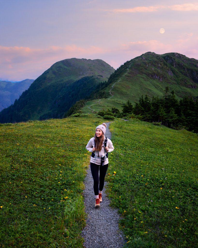 Epic 6 Day Southeast Alaska Itinerary - Harbor Mountain Trail Sitka