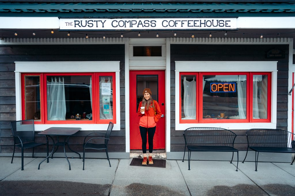 Epic 6 Day Southeast Alaska Itinerary - Rusty Compass Coffeehouse in Haines