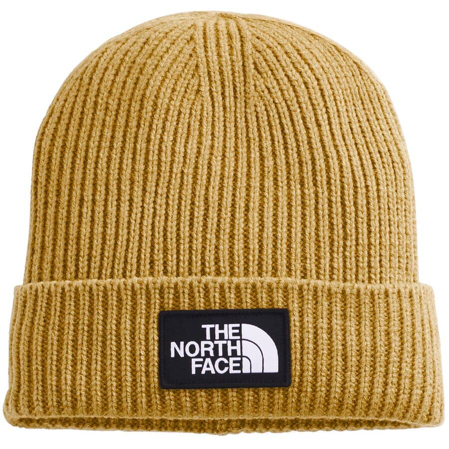 What To Pack for a Trip to Southeast Alaska - The North Face Logo Box Cuffed Beanie